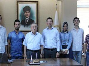 AK Partili gençlerden Serenli'ye ziyaret