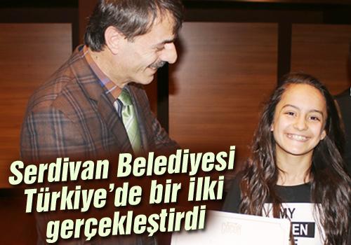 """Türkiye'nin ilk """"Çocuk Akademisi""""nden mezun oldular"""