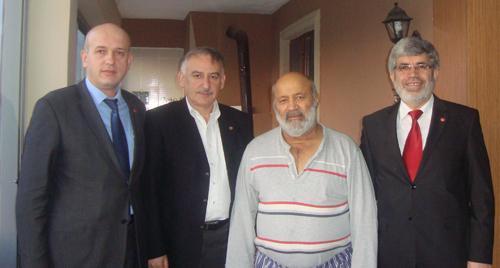 Saadet'ten Yusuf Gürel'e ziyaret