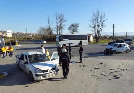 Camili'de kaza: 4 yaralı