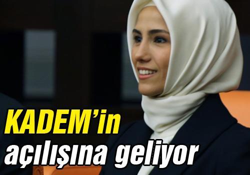 Sakarya Şubesi'nin açılışını Sümeyye Erdoğan yapacak