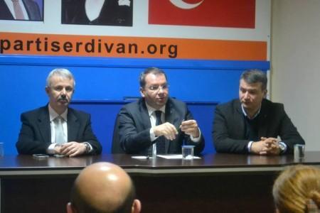 Uncuoğlu'ndan Serdivan İlçe'ye hayırlı olsun ziyareti