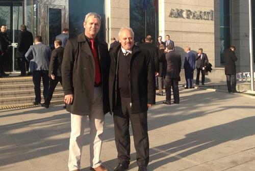 AK Parti Karapürçek İlçe Teşkilatı Ankara'da