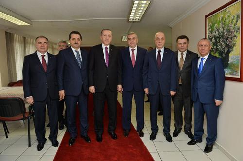 Toçoğlu Cumhurbaşkanı Erdoğan'la görüştü