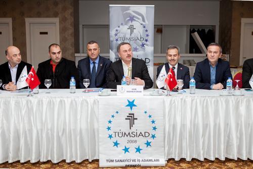"""""""TÜMSİAD Türkiye'ye güç veriyor"""""""