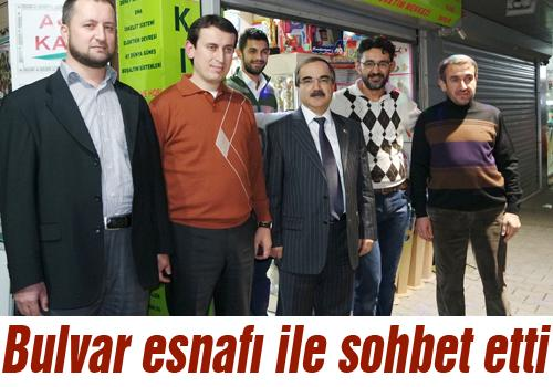 Vali Coş'tan esnaf ziyareti