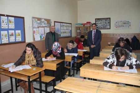 2015'in ilk sınavı yapıldı
