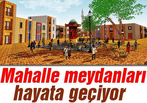Başkan Alemdar yeni projenin müjdesini verdi