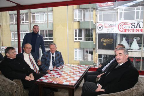 Başkan Dişli'den altın esnaflara ziyaret