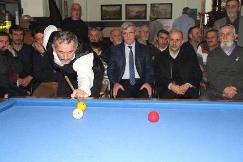 Akyazı Belediyesi 3 Bant Bilardo Turnuvası yapıldı