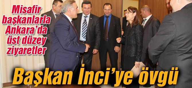 Misafir başkanlarla Ankara'da üst düzey ziyaretler