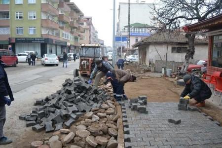 Karasu'da çalışmalar sürüyor