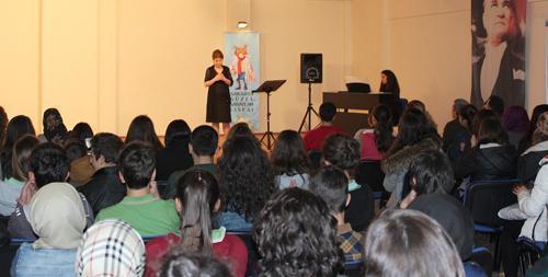 Sakarya Güzel Sanatlar Lisesinde şan konseri