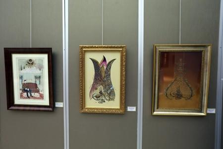 Sanat Galerisi'nde geleneksel sanatlar sergilendi