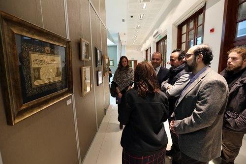 Galeri'de geleneksel sanatlar sergilendi