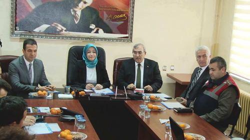 Bakan Yardımcısı Atabek Karasu'da