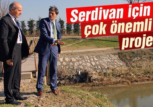 Serdivan'a 3,5 kilometrelik yağmursuyu hattı