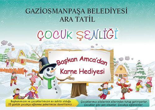 """Gaziosmanpaşa'da """"Çocuk Şenliği"""""""