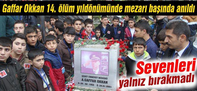 Gaffar Okkan 14. Ölüm yıldönümünde mezarı başında anıldı
