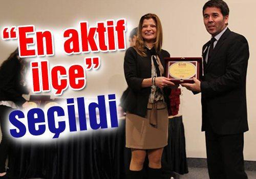 Sapanca Belediyesi ödül aldı