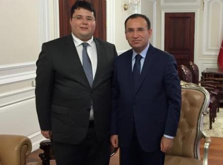 Ahmet Orhan'dan Bakan Bozdağ'ına ziyaret