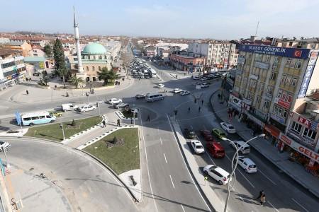 Sakarya Caddesi tamamlanıyor