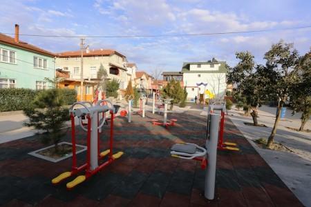 Serdivan'da oyun parkları yenileniyor