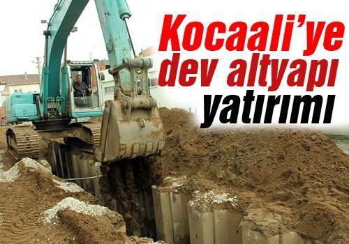 43 Milyon TL'lik altyapı ve arıtma tesisi inşaatı devam ediyor