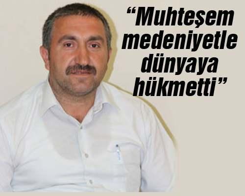 Hasan Dişli Osmanlı'nın kuruluşunun 714. yılını kutladı