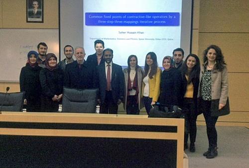 Prof. Khan'dan SAÜ'de seminer