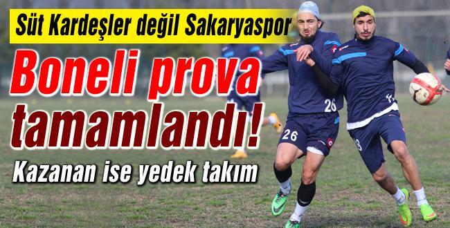 Sakaryaspor, Maraş provasını yaptı