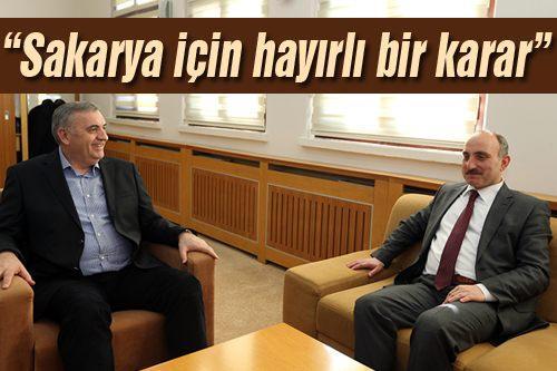 AK Parti İl Başkan Adayı Fevzi Kılıç Başkan Toçoğlu'nu ziyaret etti