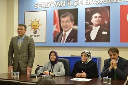 Atabek'ten Serdivan İlçe Başkanlığı'na ziyaret