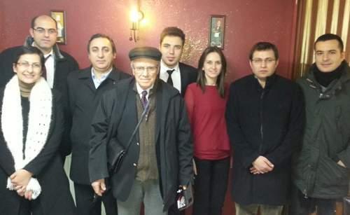 Prof. Dr. Hacısalihoğlu'na veda yemeği