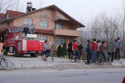 Komşunun dikkati yangının büyümesini önledi