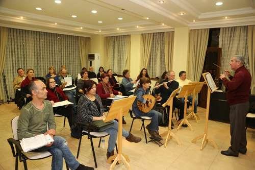 Türk müziği korosu çalışmalarını hızlandırdı