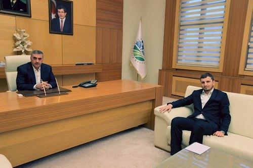 Başkan adayı Demir'den Toçoğlu'na ziyaret