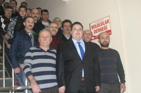 Ahmet Orhan'a Bolulu hemşerilerinden tam destek