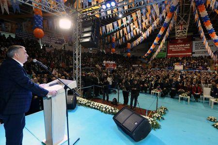 Toçoğlu İl Kadın Kolları Kongresi'ne katıldı