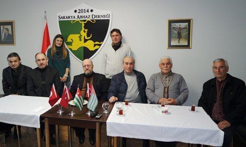 Ayhabılar Abhaz Derneği'nde bir araya geldi