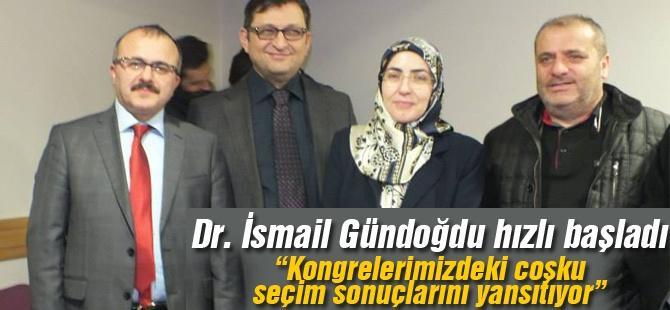 Dr. İsmail Gündoğdu hızlı başladı