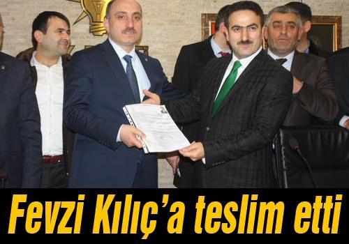 Tandoğan aday adaylığı başvurusunu yaptı