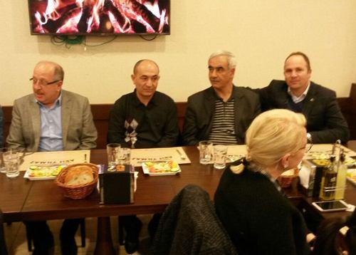 Cumhuriyet Anadolu Lisesi'nden veda yemeği