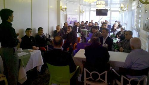 Eğitim-Bir-Sen'den Pamukova'da toplantı