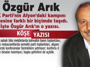 AKP'nin Afyon Kampı