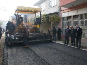 2013'te 50 bin ton sıcak asfalt dökülecek