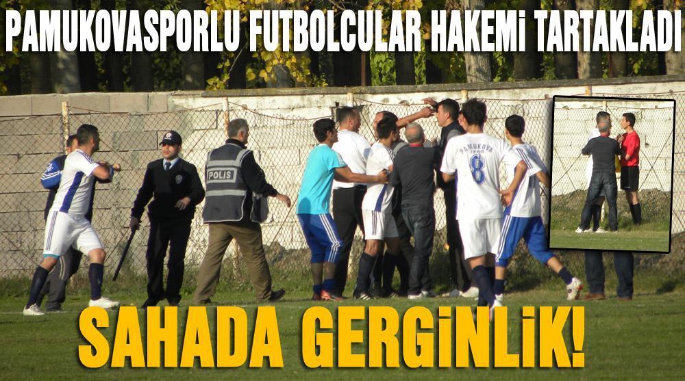 POLİS MÜDAHALE ETTİ