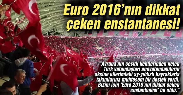 Euro 2016'nın dikkat çeken enstantanesi!…