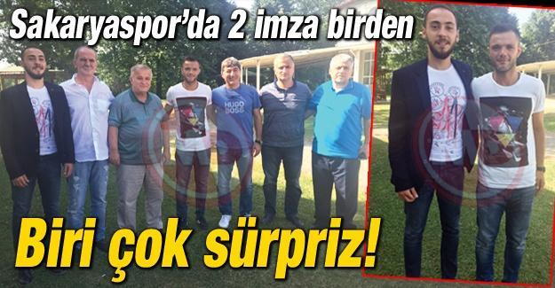 Sakaryaspor'dan 2 transfer daha!