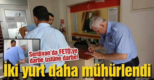 Serdivan'da FETÖ'ye darbe üstüne darbe!